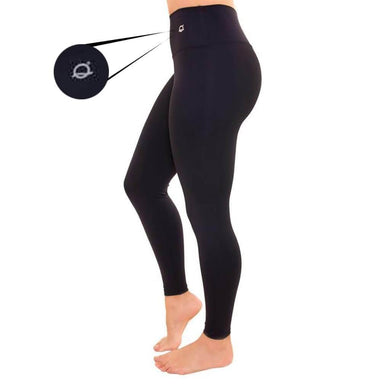 Compression Leggings - Solid Black