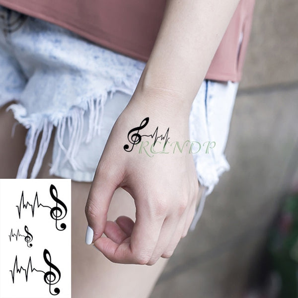 Waterproof Temporary Tattoo Sticker lotus flower Fake Tatto Flash Tatoo