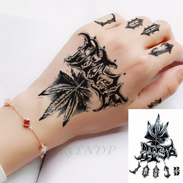 Waterproof Temporary Tattoo Sticker Tribal totem henna