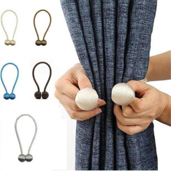 Hot Curtain Buckles 2019 Newest Magnetic Pearl Ball Curtain Tiebacks