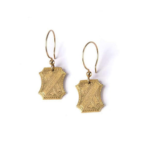 Art Deco Cufflink I Earrings