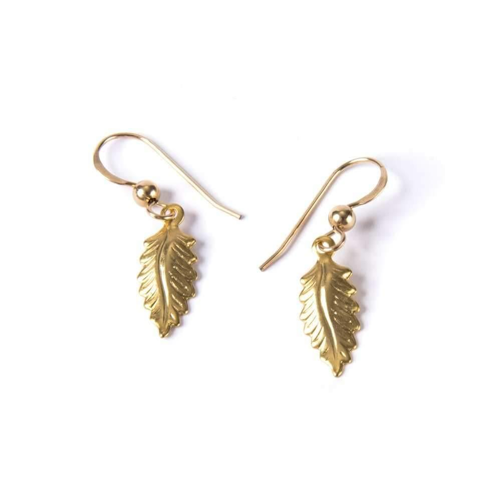 Art Deco Feather III Earrings