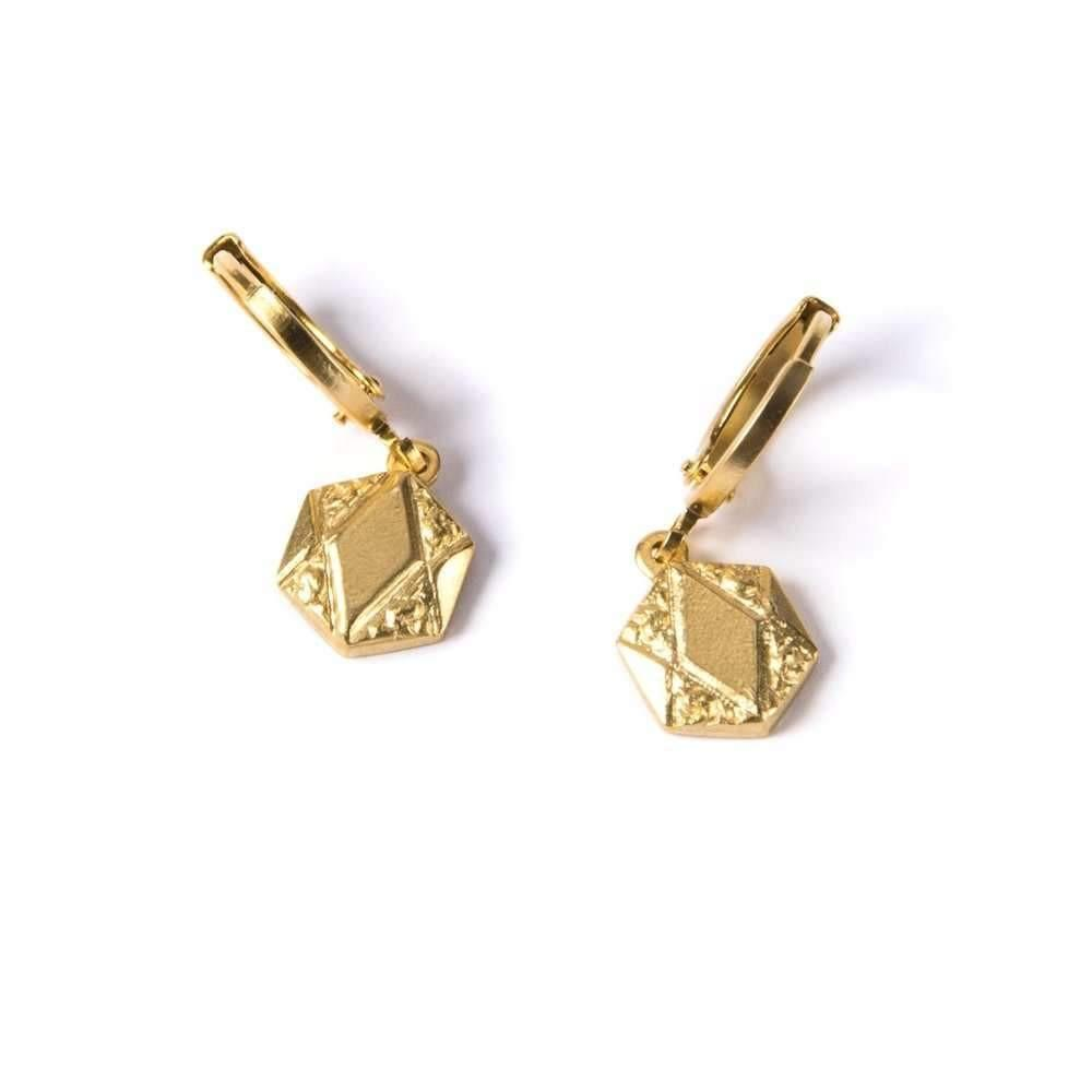Art Deco Pendant II Earrings