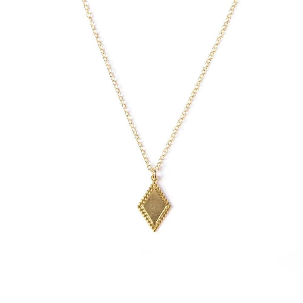 Art Deco Pendant IV Necklace