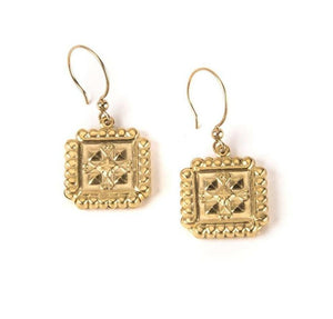 Art Deco Square I Earrings