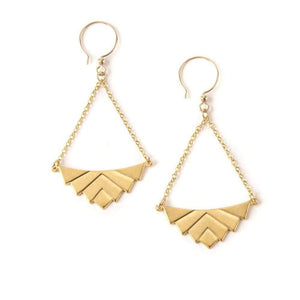 Art Deco Swag Earrings