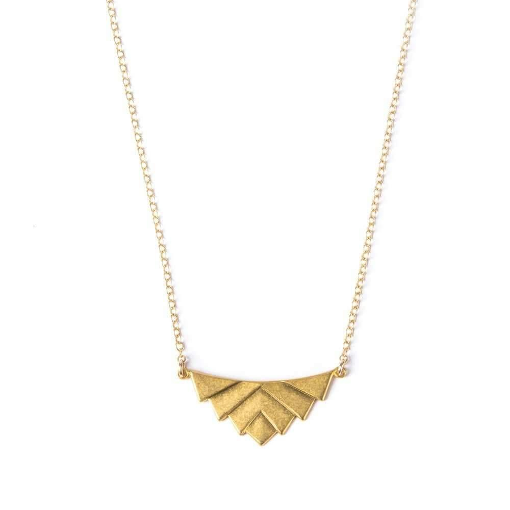Art Deco Swag Necklace