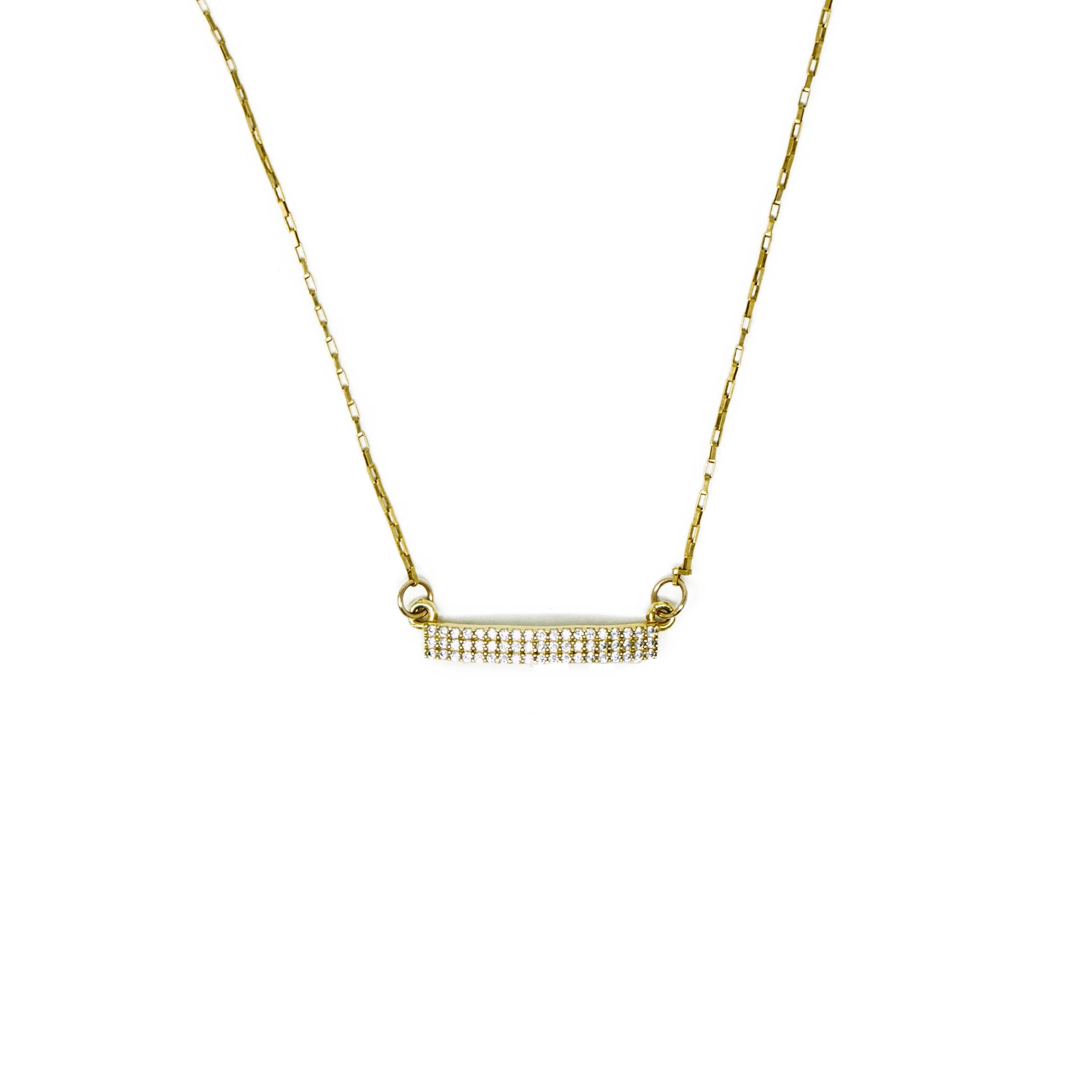 Art Deco Bar Necklace