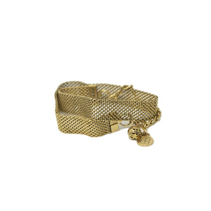 Antique Mesh Wrap Bracelet