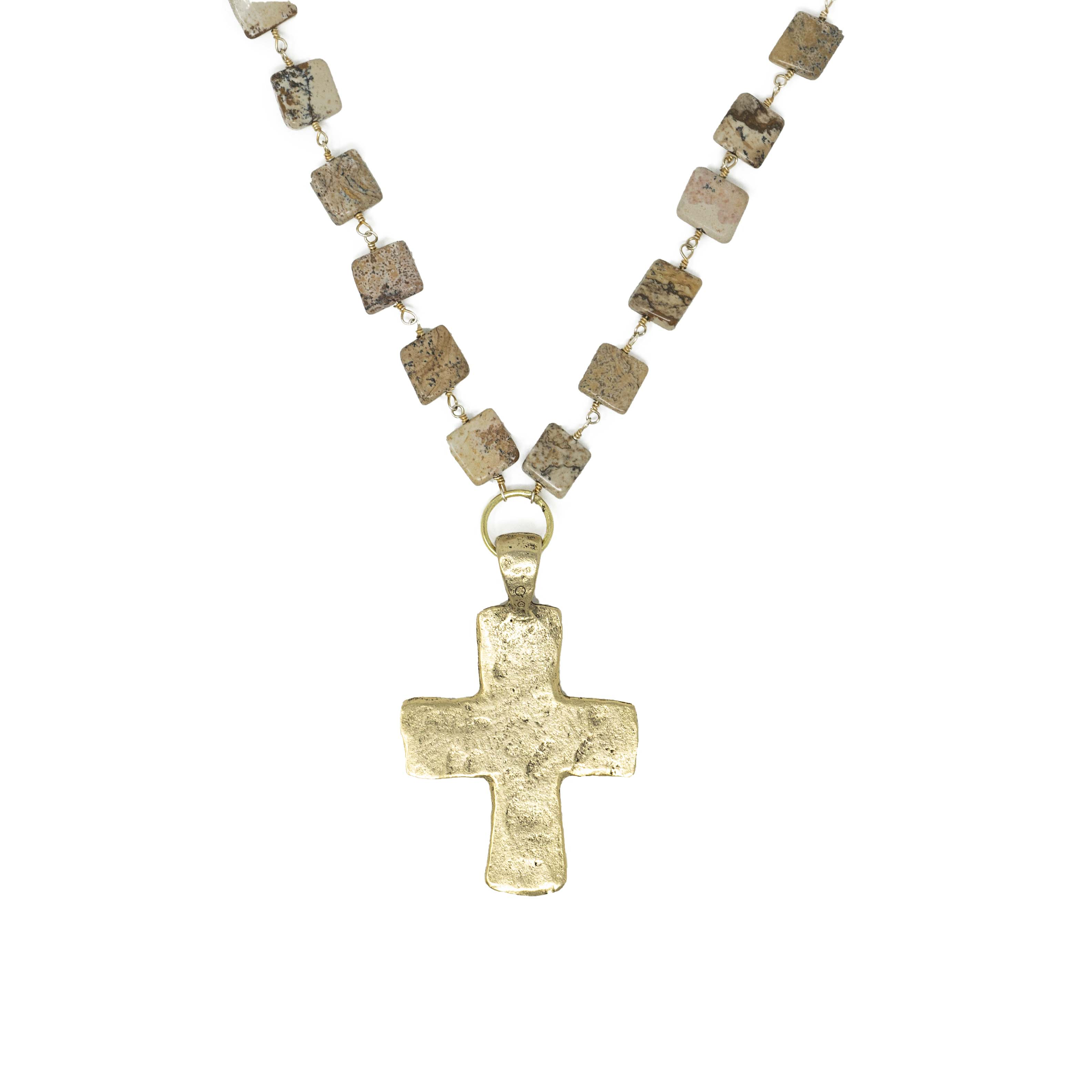 Long Cross Necklace