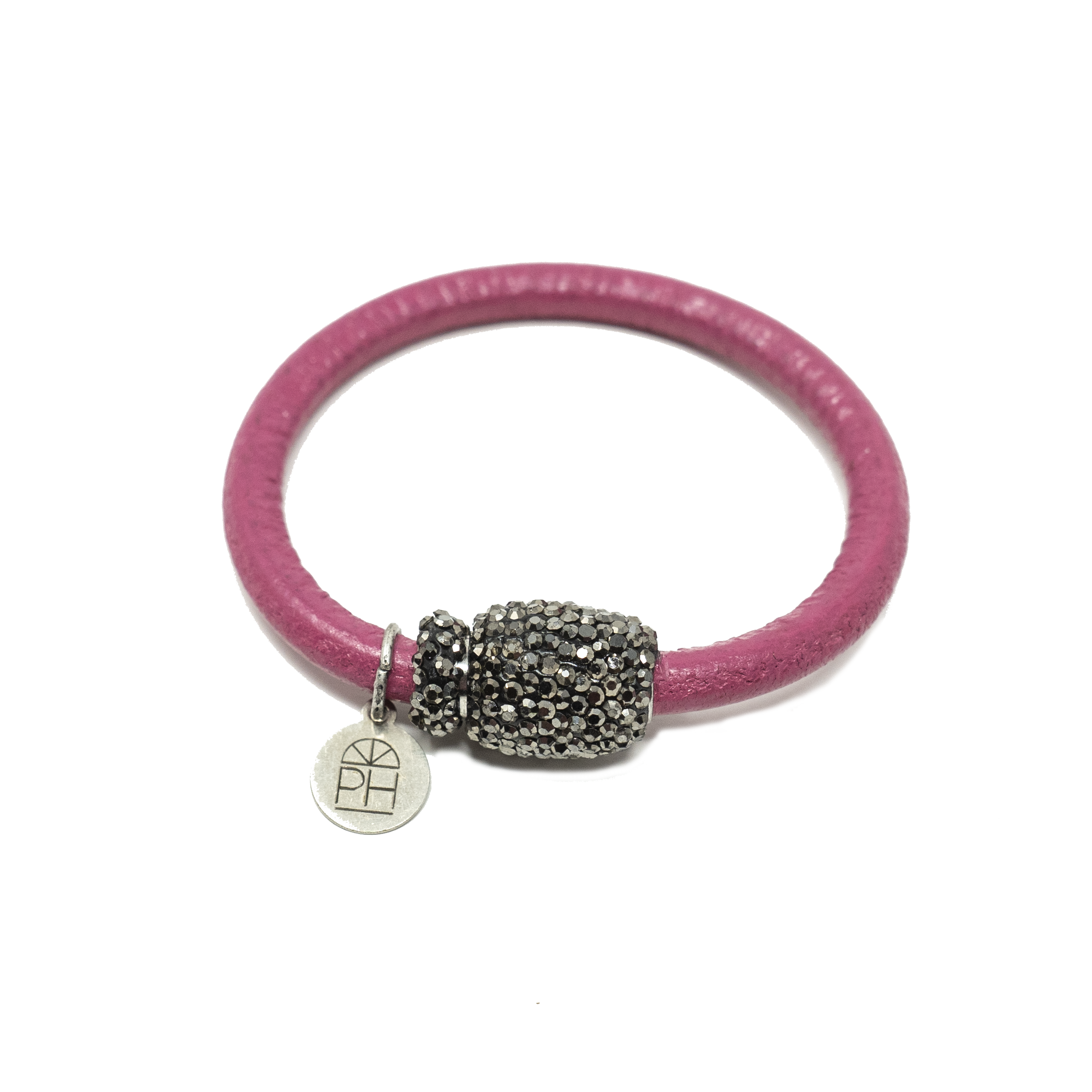 Leather & Rhinestone Bracelets