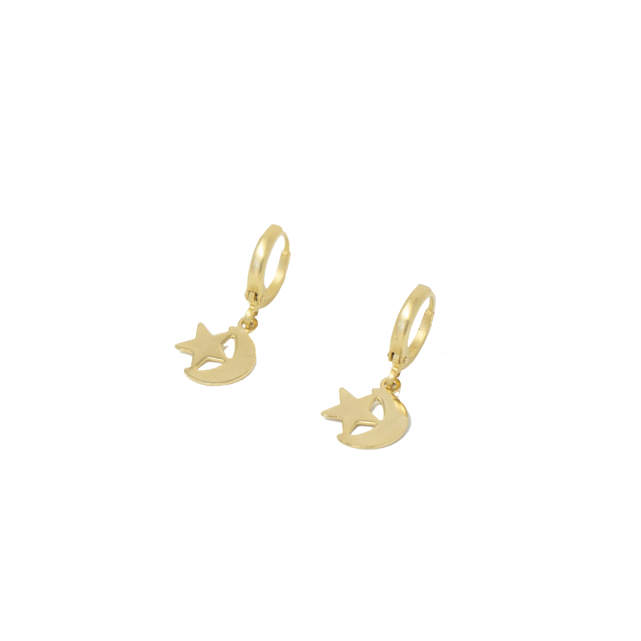 Star & Moon I Earrings