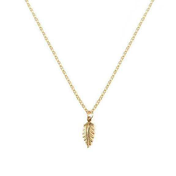 Art Deco Feather III Necklace