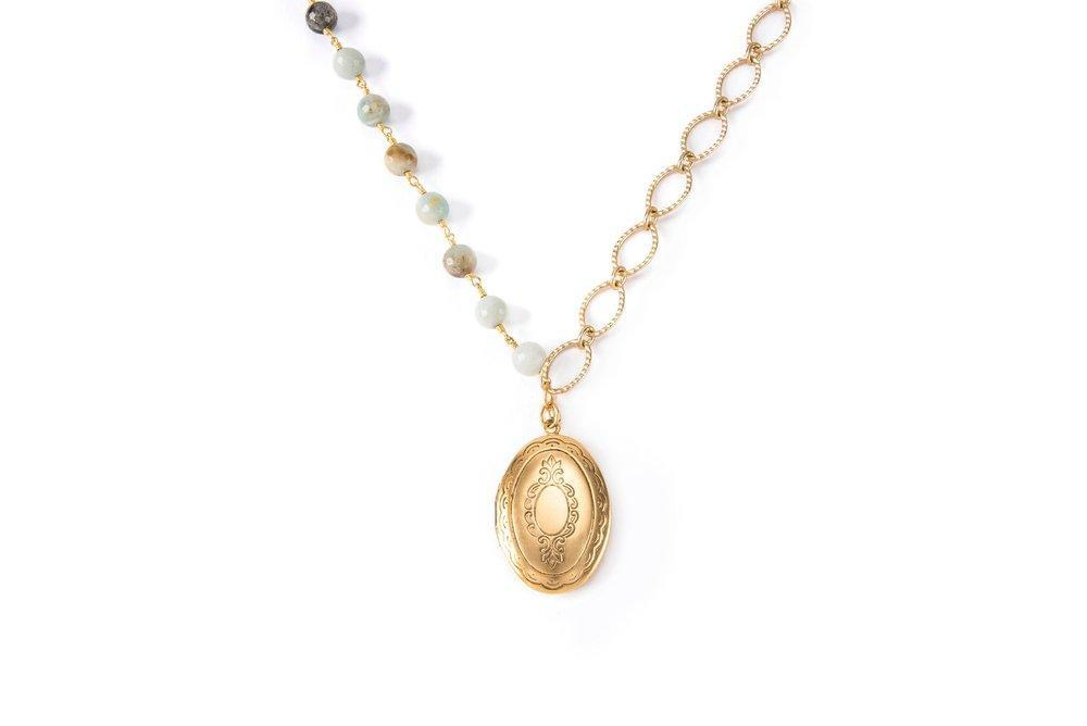 Margaret Locket Necklace