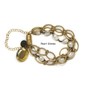 Margaret Bracelet with Locket