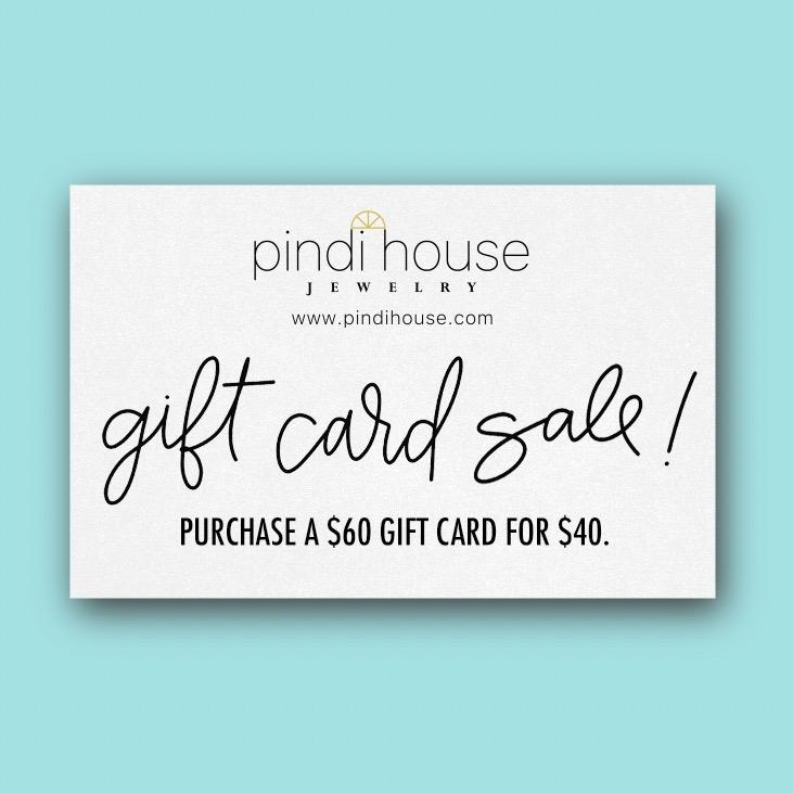 $60 PHJ Gift Card For $40 (discount applied at checkout)