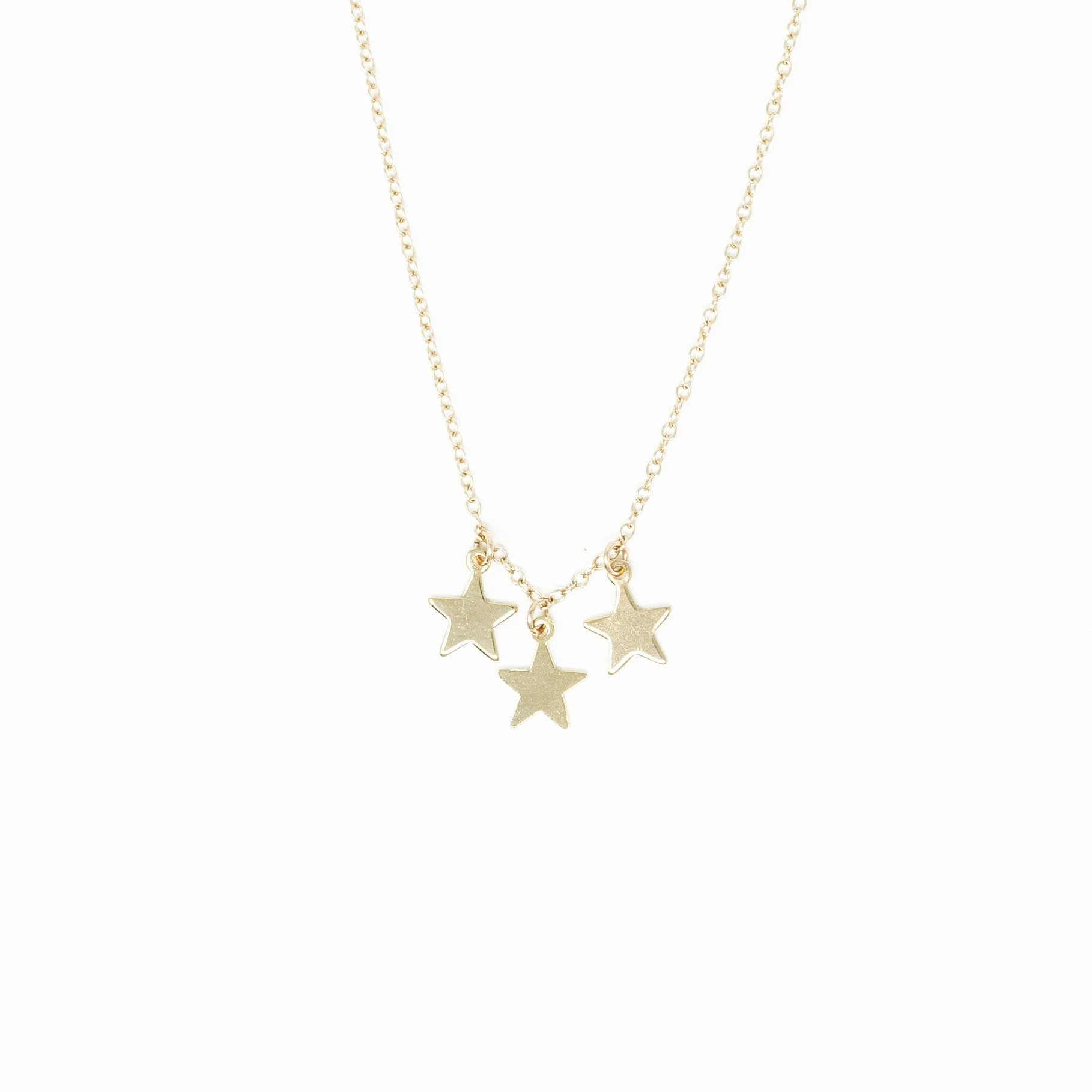Three Star II Necklace