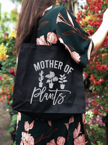 Mother of Plants Canvas Tote
