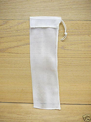 small white nylon finch sock