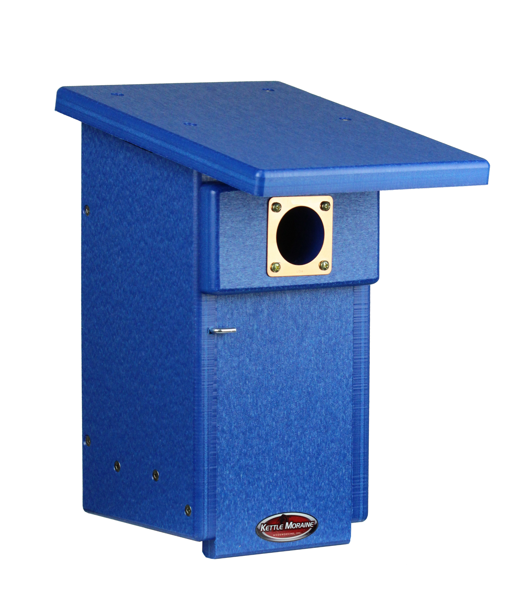 kettle moraine recycled blue plastic nest box