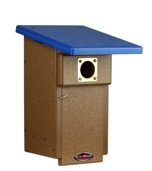 bluebird nest box made of recycled plastic