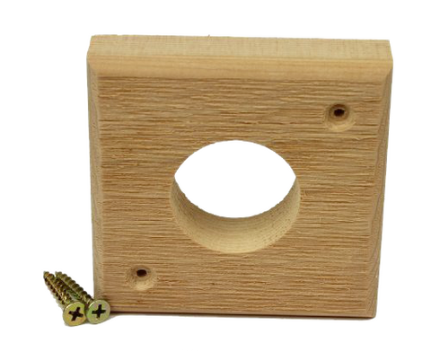 cedar wood entry hole predator guard