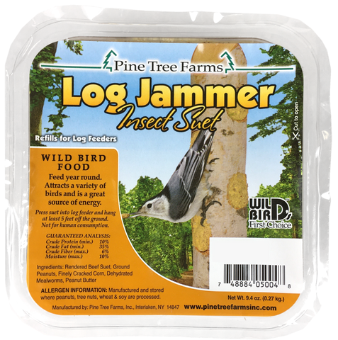Log Jammer Suet Plugs - Ten Pack