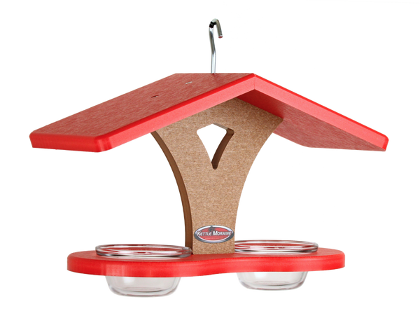 red roofed kettle moraine double jelly feeder