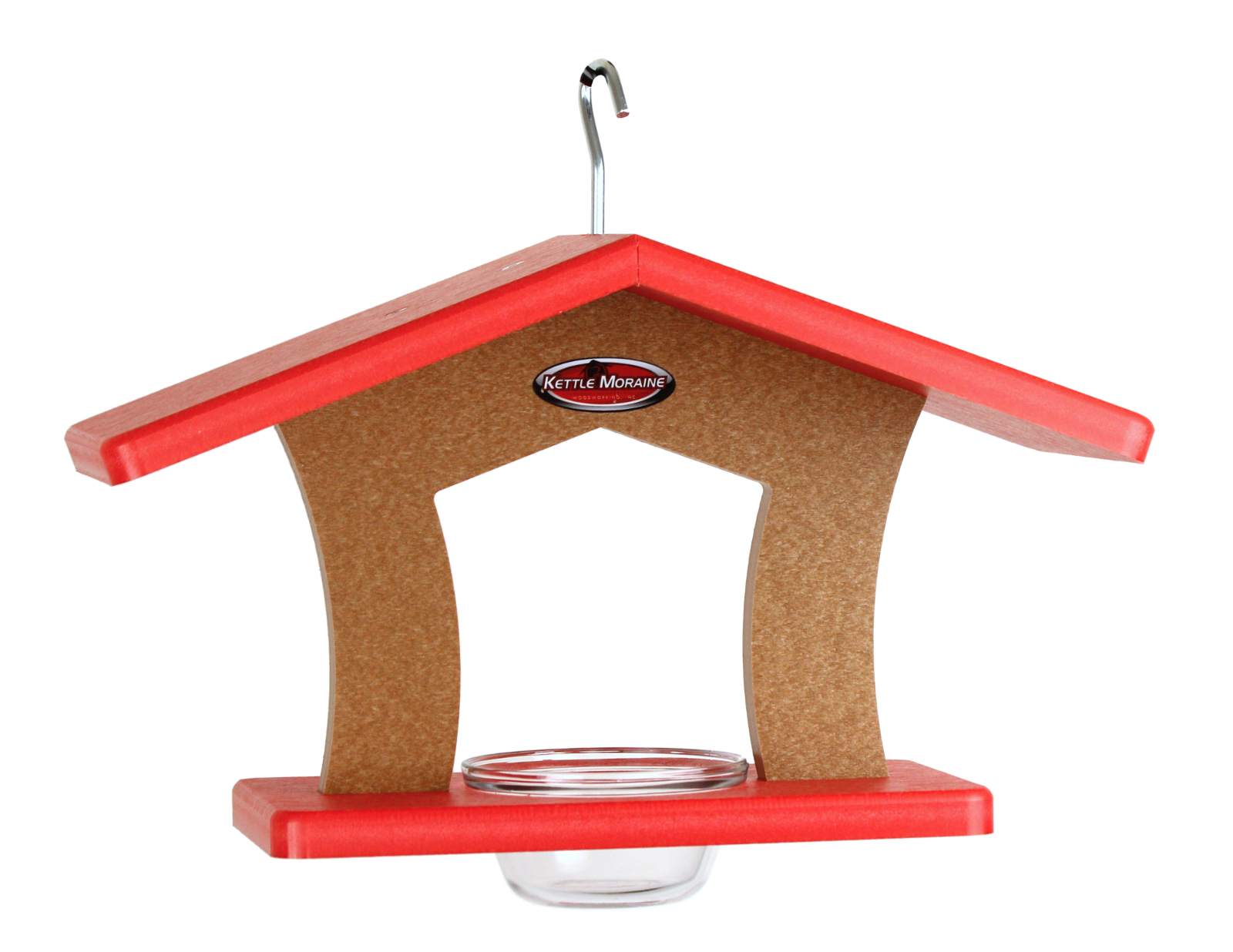 kettle moraine single cup red roofed feeder