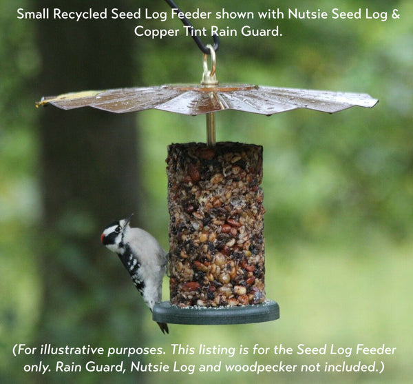 Recycled Seed Cylinder Feeder (Small)