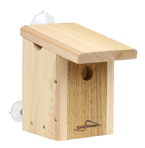 kettle moraine cedar window mount bird house