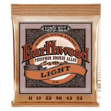 Lataa kuva Galleria-katseluun, Ernie Ball Earthwood Phosphor Bronze Light 11-52