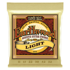 Ernie Ball EB-2004 Earthwood Bronze Light 11-52