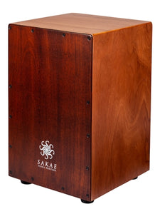 Sakae CAJ-100W Cajon Percussion Walnut color