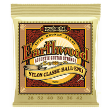 Lataa kuva Galleria-katseluun, Ernie Ball Earthwood Folk Nylon