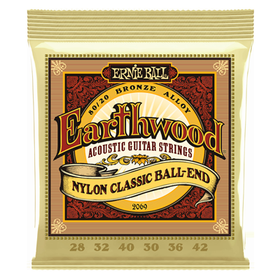 Ernie Ball Earthwood Folk Nylon