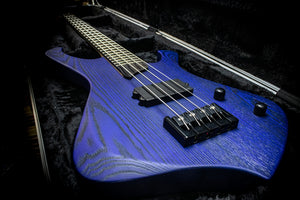 ESH Stinger Basic 4-string Blue stain matte