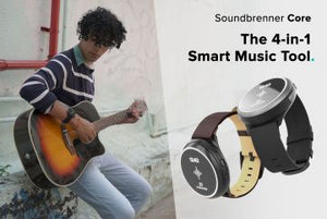 SOUNDBRENNER CORE 4IN1 MUUSIKON SMARTWATCH!
