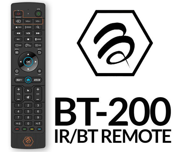 BuzzTV BT-200 Factory Replacement Remote Control - BuzzTV Global