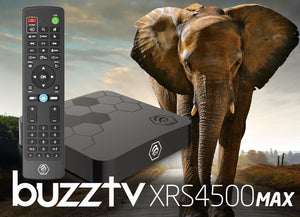 BuzzTV XRS 4500 MAX Ultra HD IPTV Box - [Free USA & Canada Wide Shipping] - BuzzTV Global