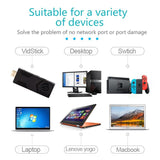 USB 3.0 Ethernet Adapter Network Card to RJ45 Lan for VidStick VidStick+ - BuzzTV Global