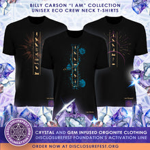 "Load image into Gallery viewer, Billy Carson ""I Am Powerful"" crew-neck t-shirt"