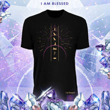"Load image into Gallery viewer, Billy Carson ""I Am Blessed"" crew-neck t-shirt"