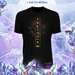 "Billy Carson ""I Am Powerful"" crew-neck t-shirt"
