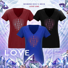 Load image into Gallery viewer, Love v-neck t-shirt
