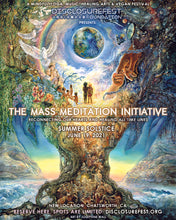 Load image into Gallery viewer, DisclosureFest and The Mass Meditation Initiative - Saturday, June 19, 2021
