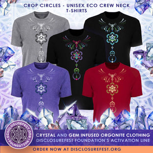 Crop Circle crew-neck t-shirt