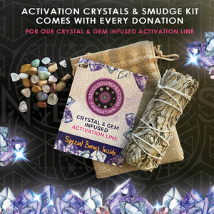 Crystal/smudge bundle