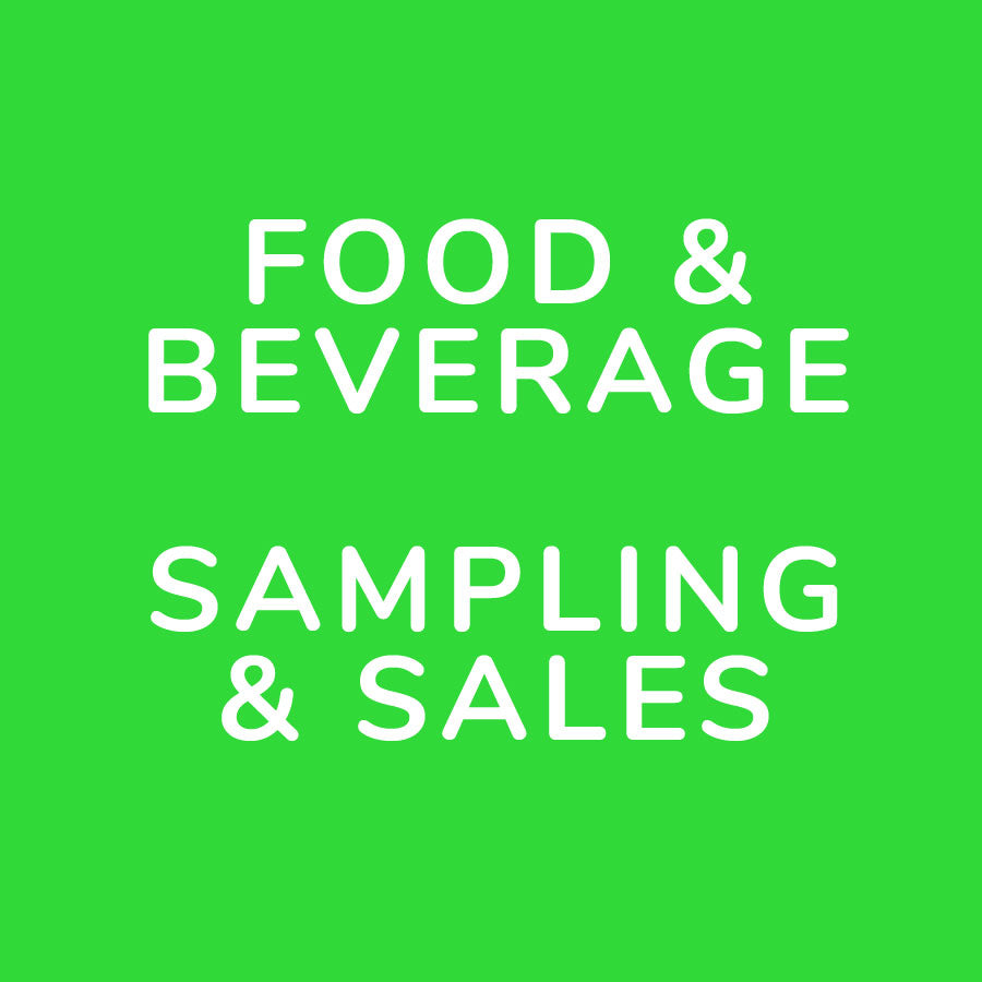 Vegan Food & Beverage Sampling & Sales