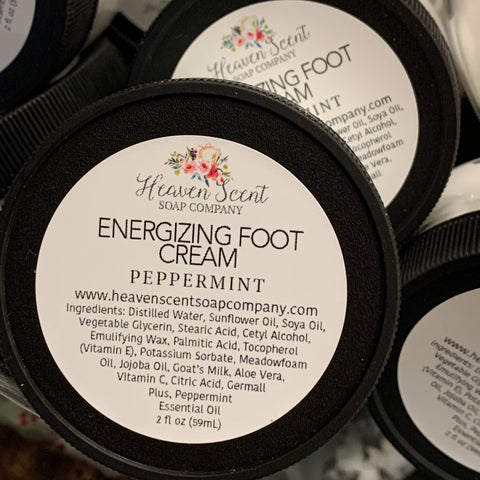 Energizing Foot Cream